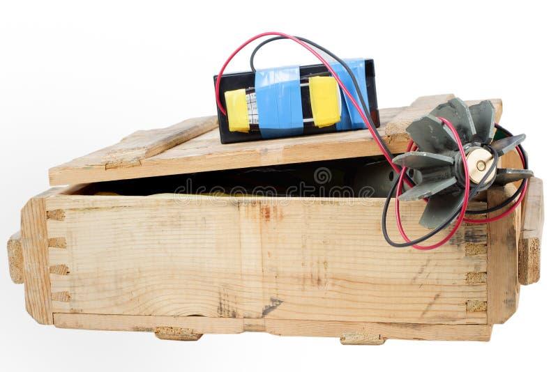 IED - dispositivo esplosivo improvvisato fotografia stock libera da diritti