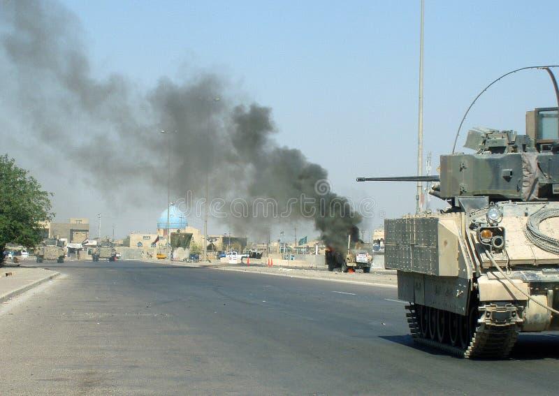 IED-Streik Bagdad der Irak 07 lizenzfreie stockfotos