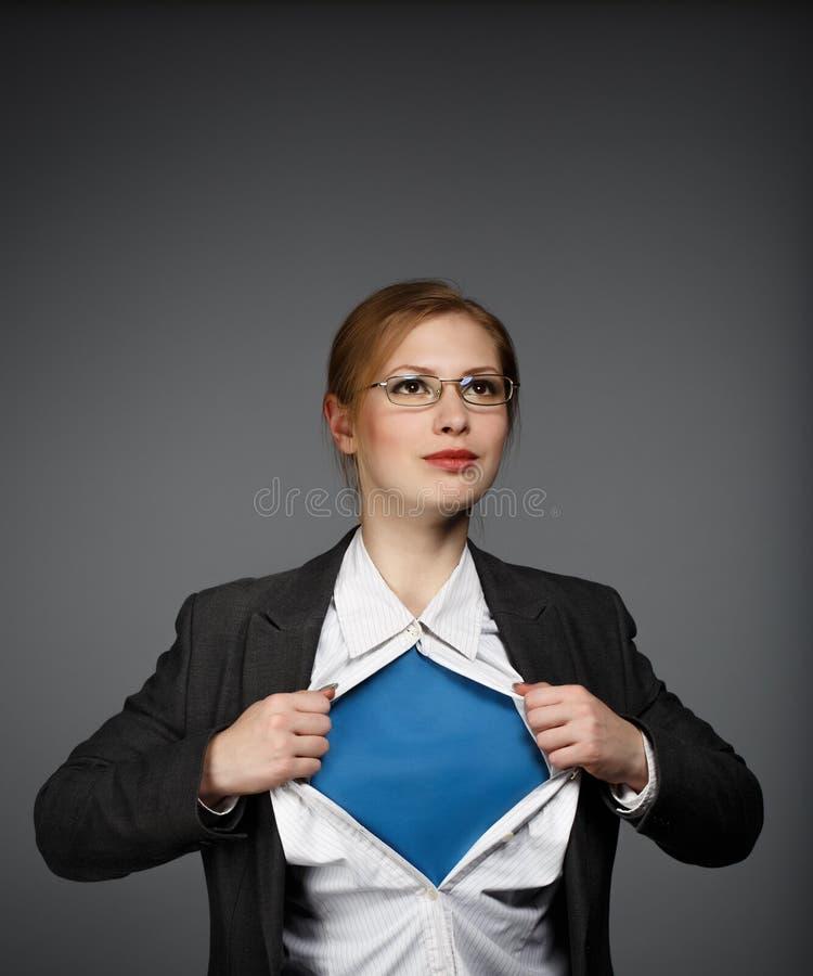 Iedereen is een superhero stock afbeeldingen