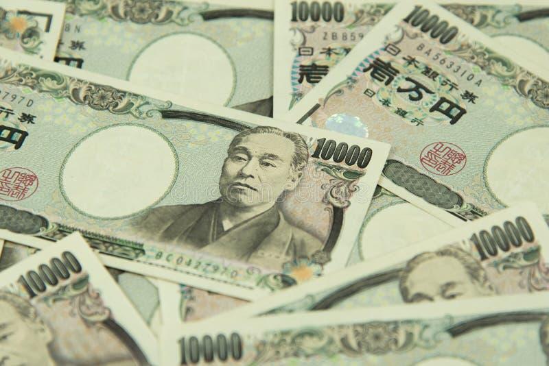 Ienes japoneses fotos de stock