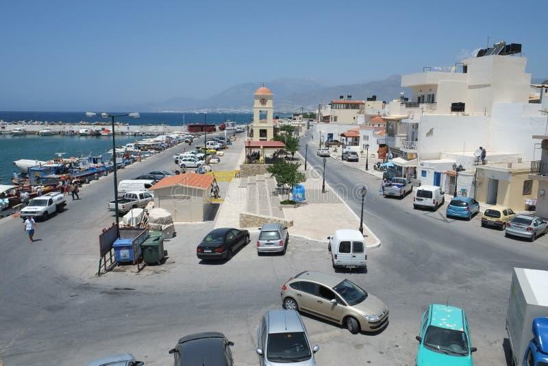 Ieraperta, Kreta-Insel, Griechenland stockbilder