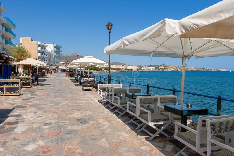 Ierapetra. Kreta, Griechenland stockbilder