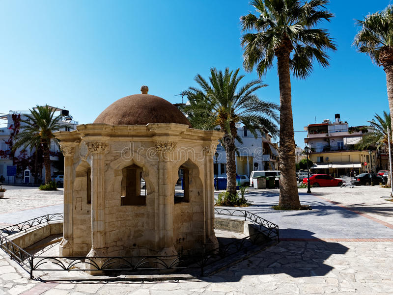 Ierapetra Mosque royalty free stock photography