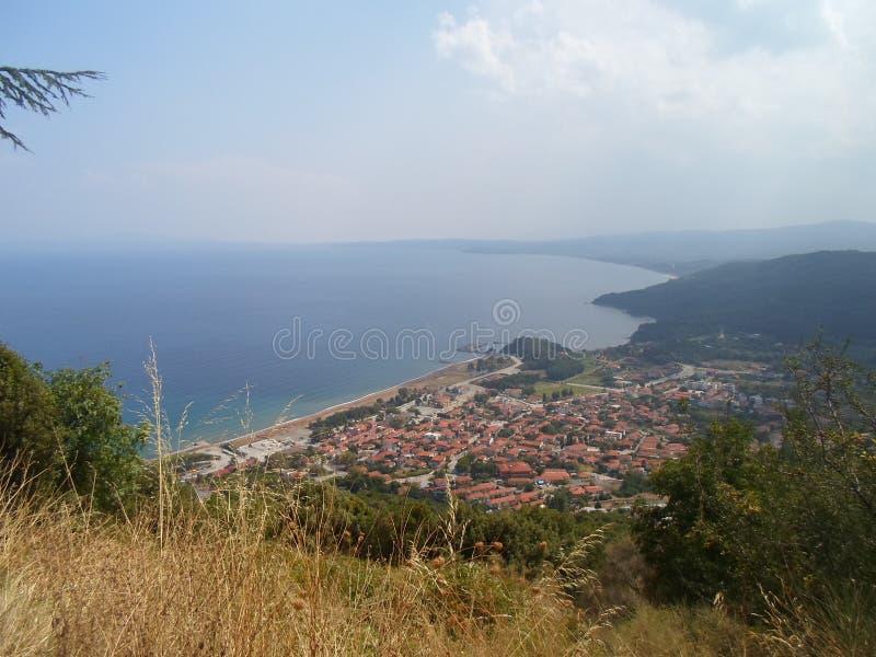 Ierissos, Chalkidiki, Griechenland lizenzfreies stockfoto