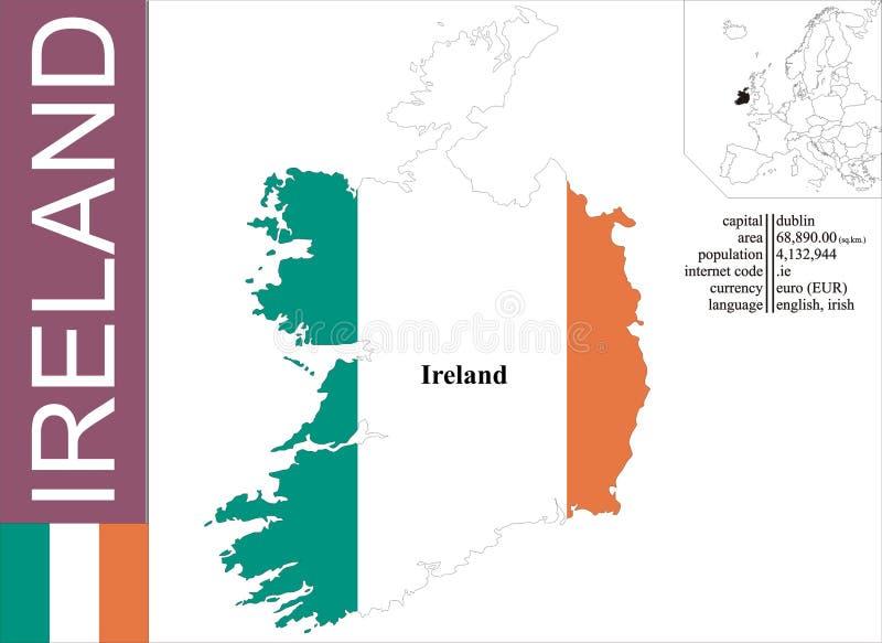 Ierland stock illustratie