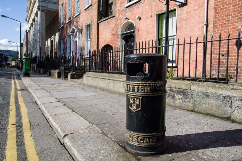 ierland dublin Baile Atha Cliath stock foto