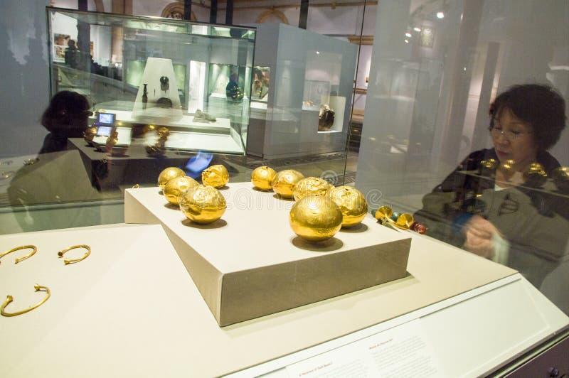 ierland dublin Nationaal Museum van Ierland archeologie royalty-vrije stock foto's