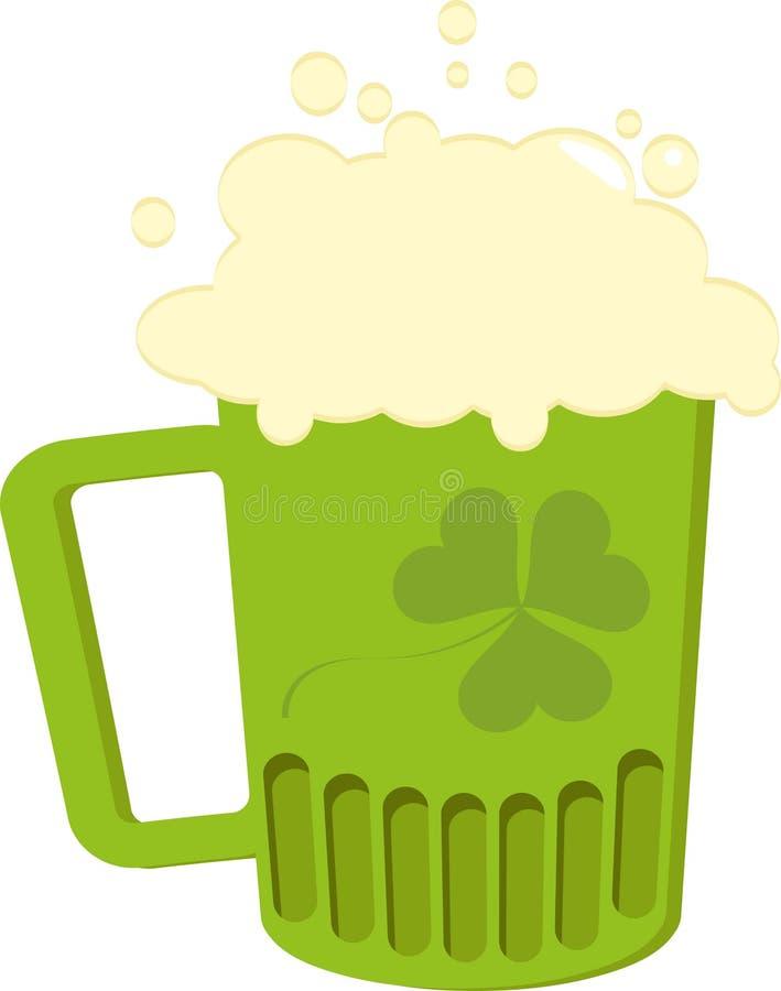Iers bier stock illustratie