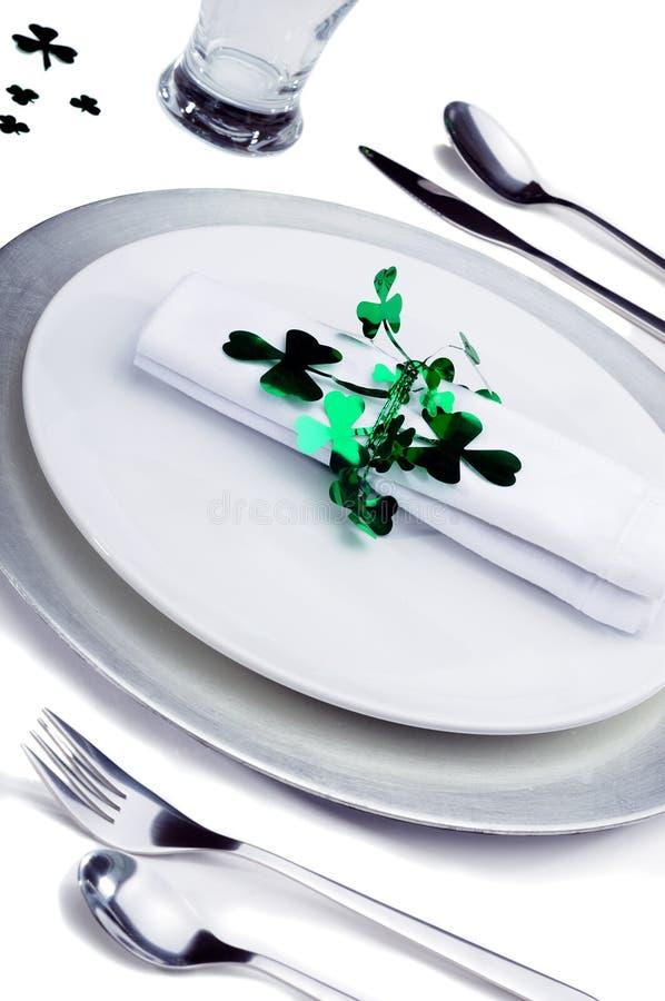 Iers Diner royalty-vrije stock foto's