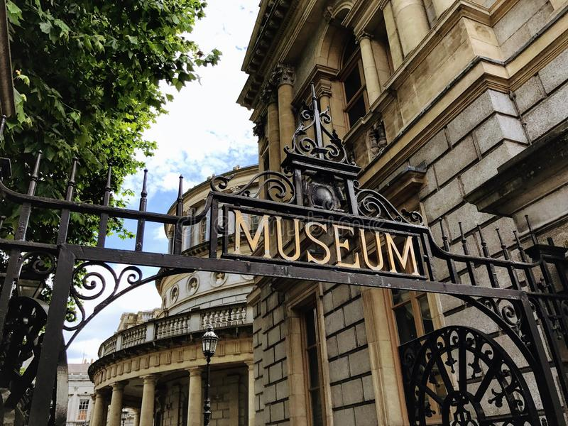 Iers Museum van Archeologie, Dublin royalty-vrije stock fotografie