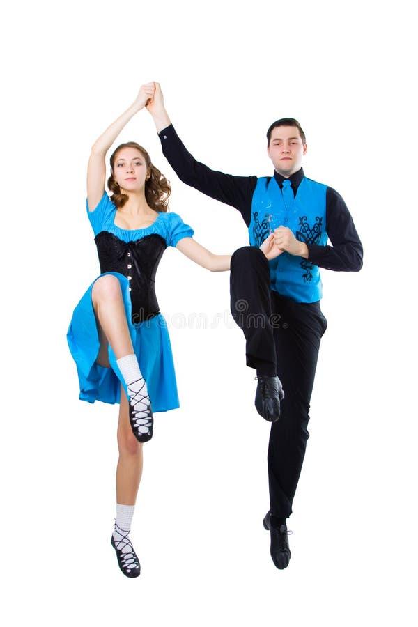 Ierse dansers royalty-vrije stock foto