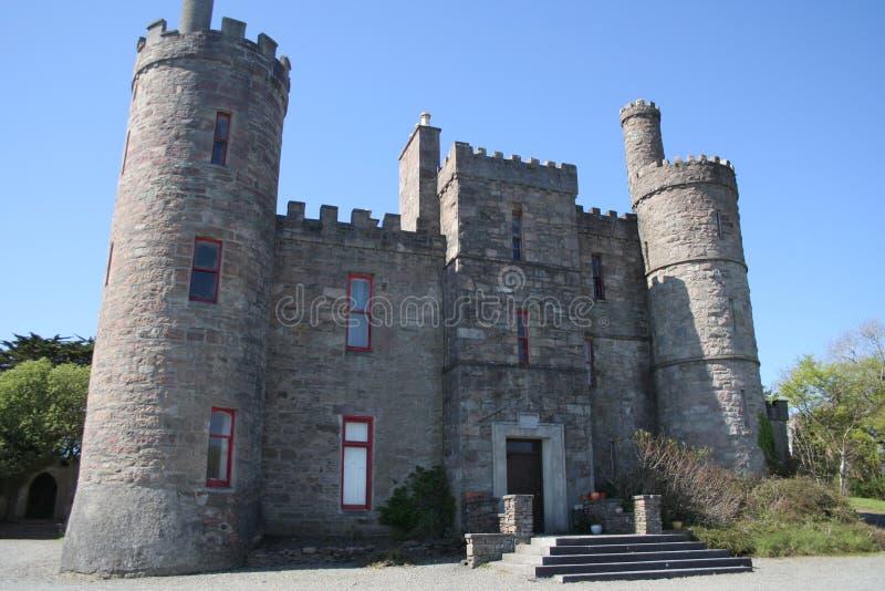 Ierse kasteelwoning royalty-vrije stock afbeelding