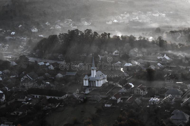 Ieud wioska zdjęcia royalty free