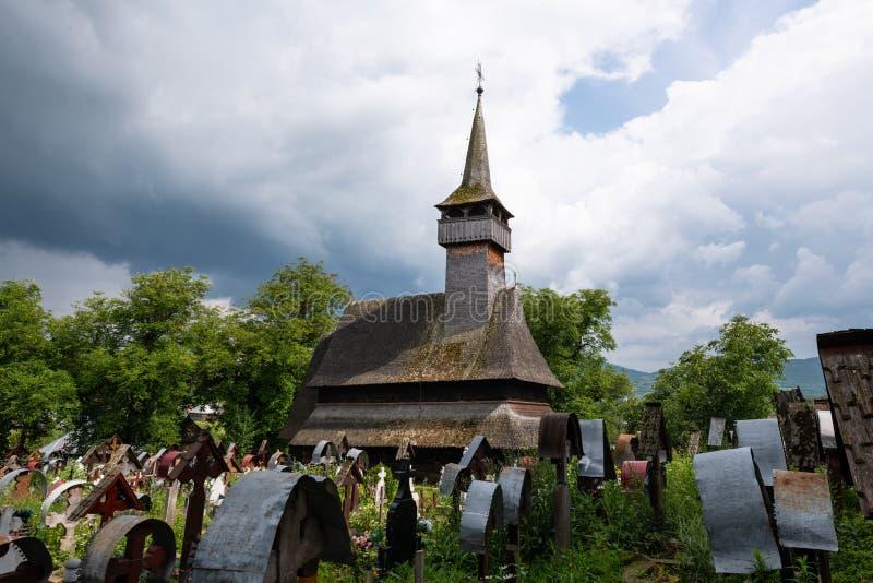 Ieud wzgórza kościół zdjęcia stock
