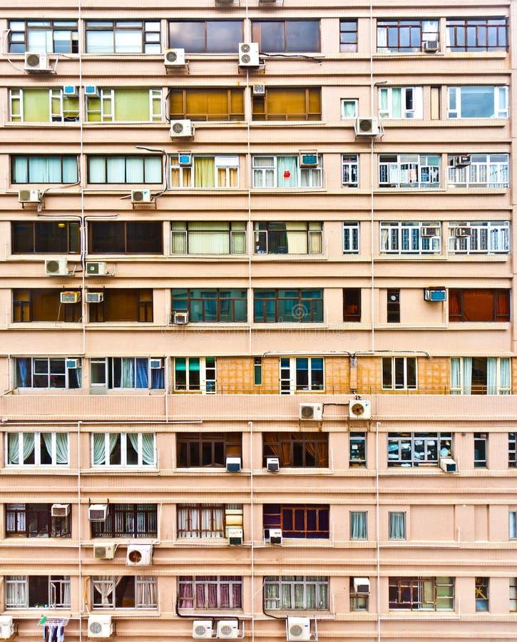 Iew à la façade du vieux gratte-ciel photographie stock libre de droits
