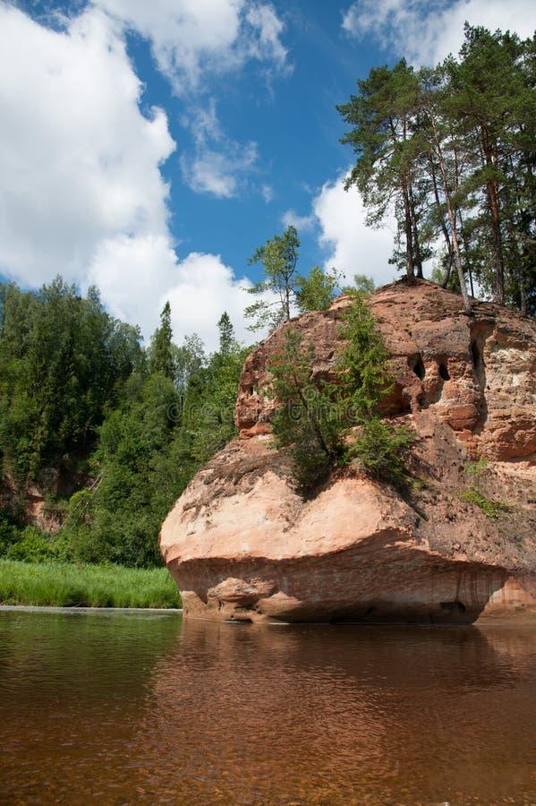 Iezis Zvartes βράχου στοκ εικόνες