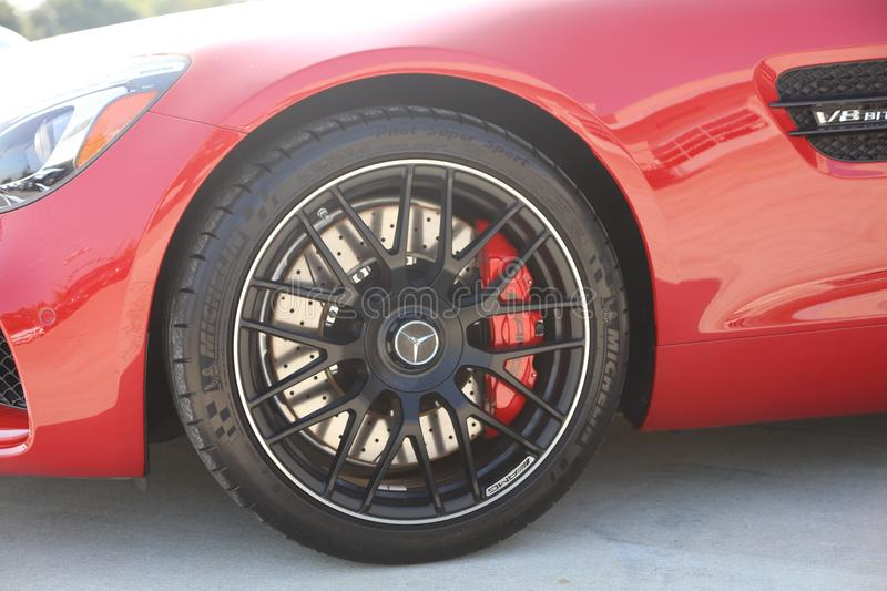 Mercedes AMG GT Wheel and Tire. If the Mercedes-AMG GT is a reinvention of the pure sports car, there`s only one way to make it even purer: Open it up. With the stock photos