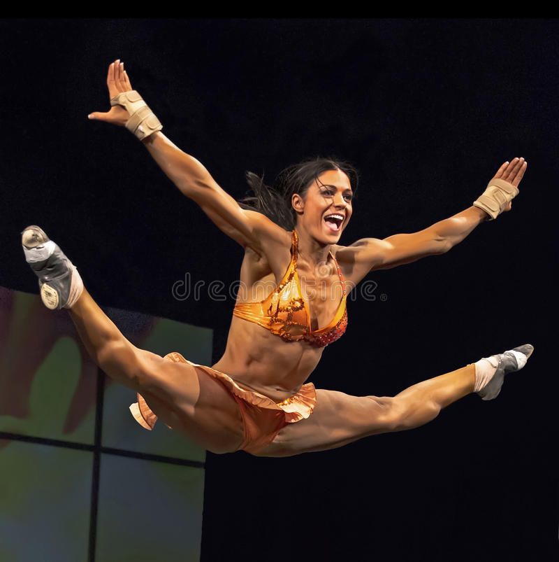 2014 IFBB Τορόντο υπέρ Supershow στοκ φωτογραφία με δικαίωμα ελεύθερης χρήσης