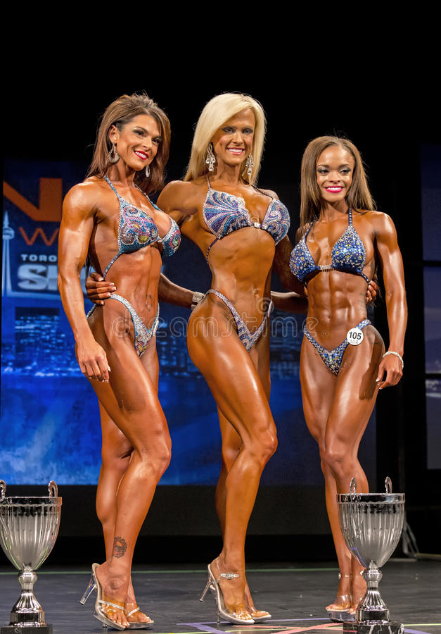 2014 IFBB Toronto Pro Supershow stock photo