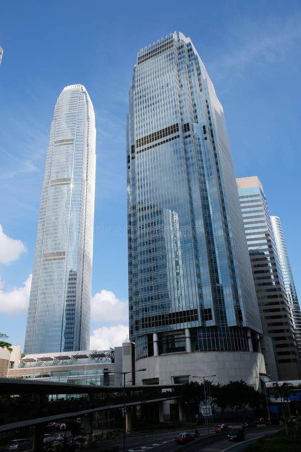 IFC budynków centrala Hong Kong zdjęcia royalty free