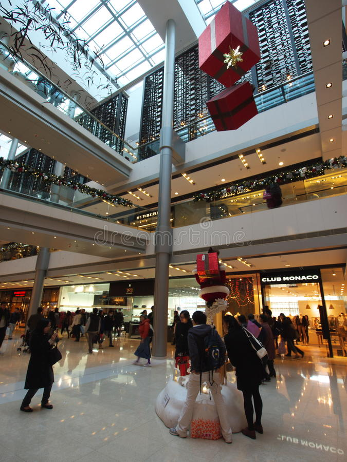 Download IFC Mall editorial photo. Image of inside, interior, pudong - 22587641