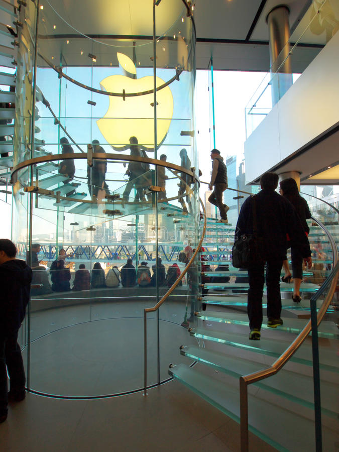 Download IFC Mall: Apple Store editorial photo. Image of stores - 22588036