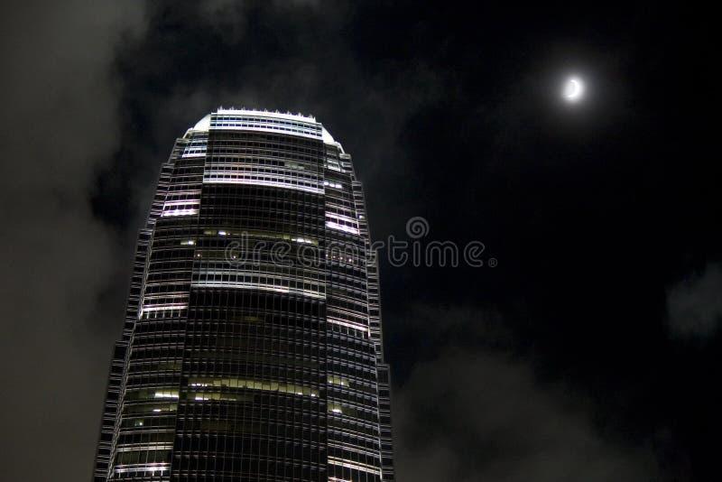 IFC-Toren bij nacht stock foto's