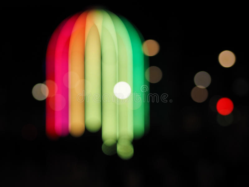 IFO defocused immagine stock