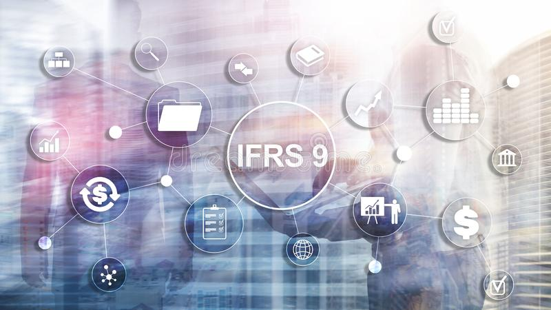 IFRS International Financial Reporting Standards Regulation instrument.  royalty free stock photos