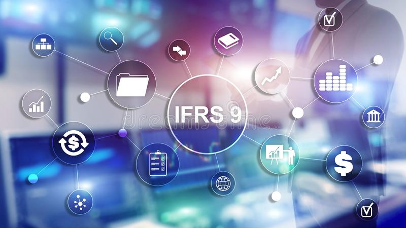 IFRS International Financial Reporting Standards Regulation instrument. IFRS International Financial Reporting Standards Regulation instrument royalty free stock images