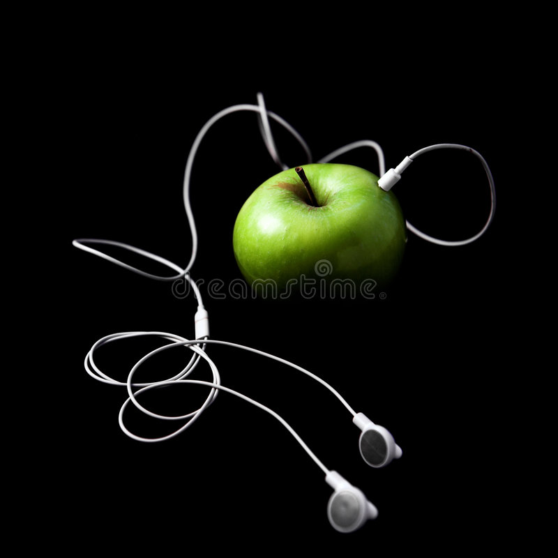 Download IFruit stock image. Image of concept, apple, black, green - 2838463