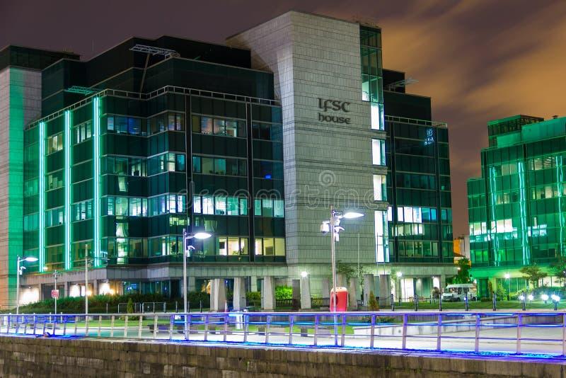 IFSC-hus - Dublin arkivfoto