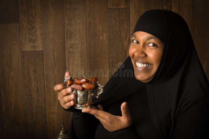Iftar-Daten stockbilder
