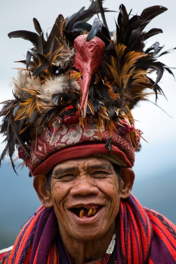 Ifugao - die Leute in den Philippinen. stockfotos