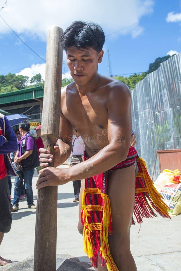 Ifugao-ethnische Minderheit in den Philippinen stockfoto