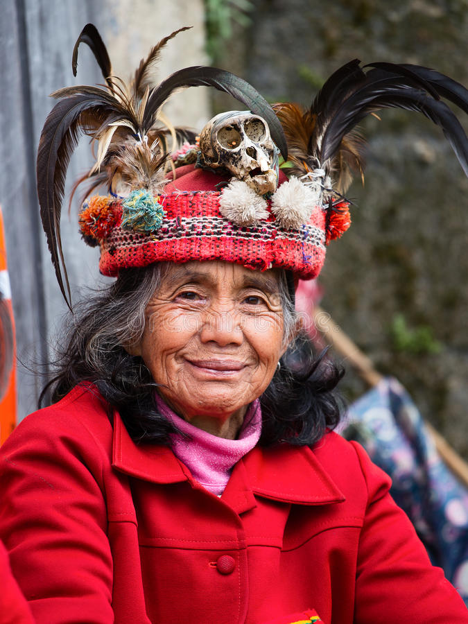 Ifugao kobieta obrazy stock