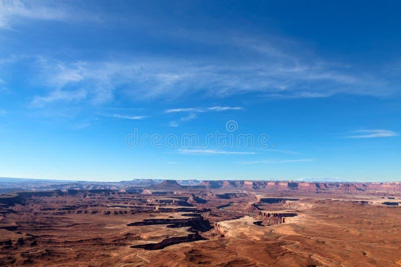Igła jaru obręczy Rekreacyjny teren BLM Utah obraz royalty free