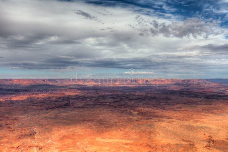 igła widok Canyonlands park narodowy obraz stock