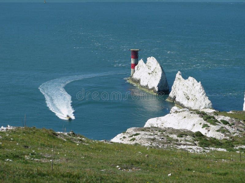 Igły, wyspa Wight obrazy royalty free