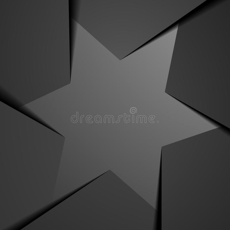 IG_Paper_6Star_03 royalty free illustration