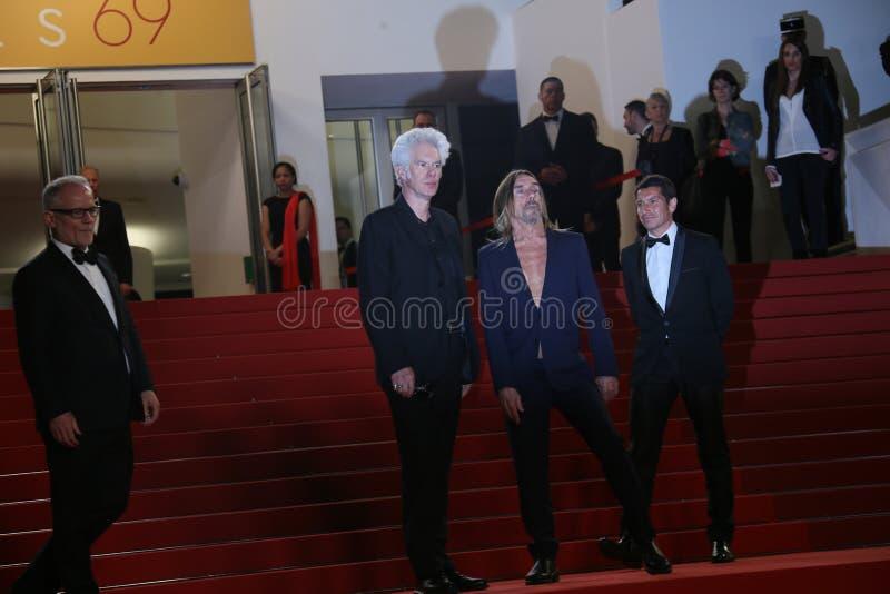 Iggy Pop et Jim Jarmusch photos stock