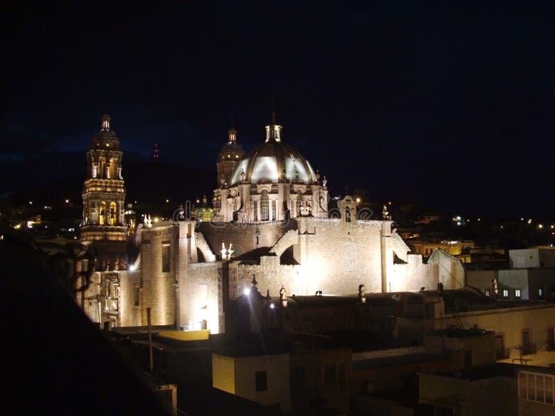 Igleia Zacatecas fotografia stock libera da diritti