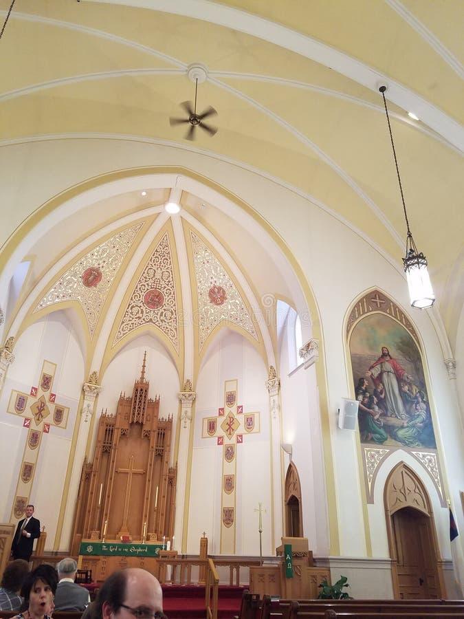 Iglesia foto de archivo libre de regalías