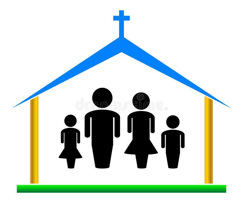 Iglesia stock de ilustración