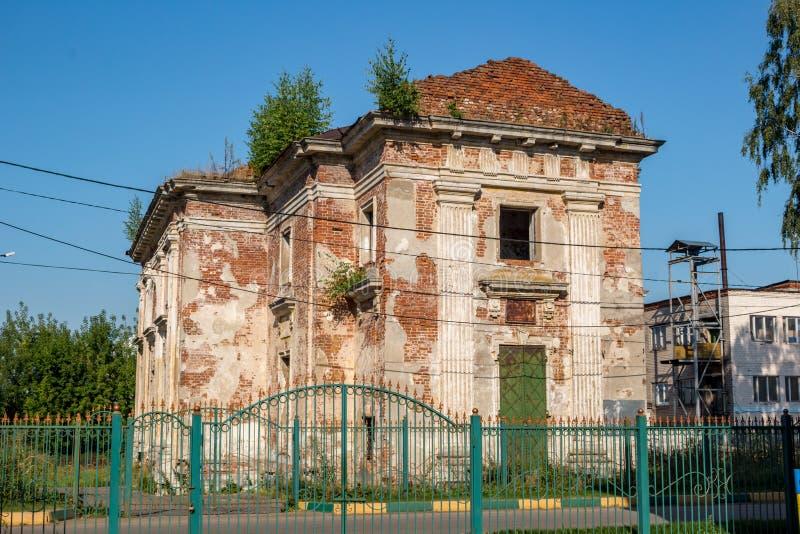 Iglesia antigua de Peter, metropolitano de Moskovskogo, en Petrovsky-Knyazishchevo fotografía de archivo