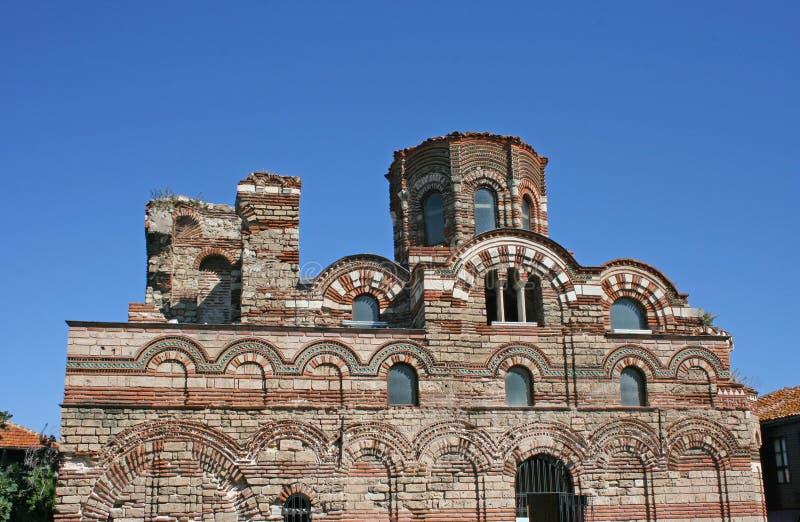 Iglesia antigua en Nessebar, Bulgaria fotografía de archivo libre de regalías