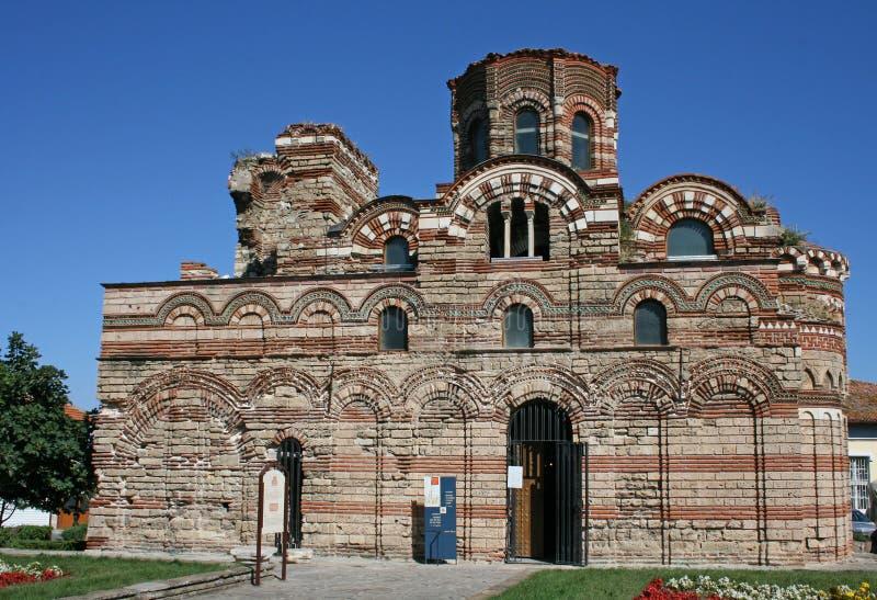 Iglesia antigua en Nessebar, Bulgaria foto de archivo libre de regalías