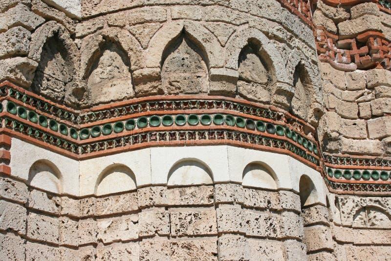 Iglesia antigua en Nessebar, Bulgaria imagen de archivo