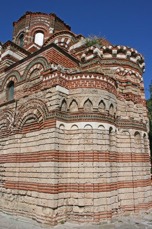 Iglesia antigua en Nessebar, Bulgaria foto de archivo