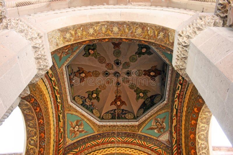 Iglesia apostólica antigua en Armenia fotografía de archivo